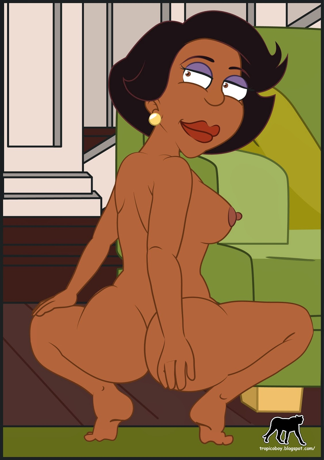 The cleveland show sex roberta